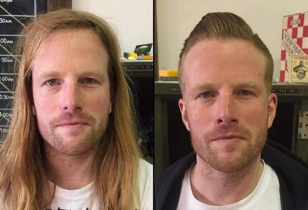 Насколько стрижка может преобразить мужчину: до и после