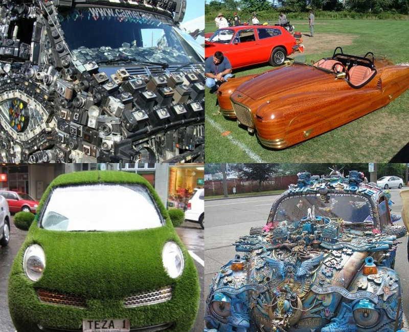 Странные автомобили, которые сложно не заметить