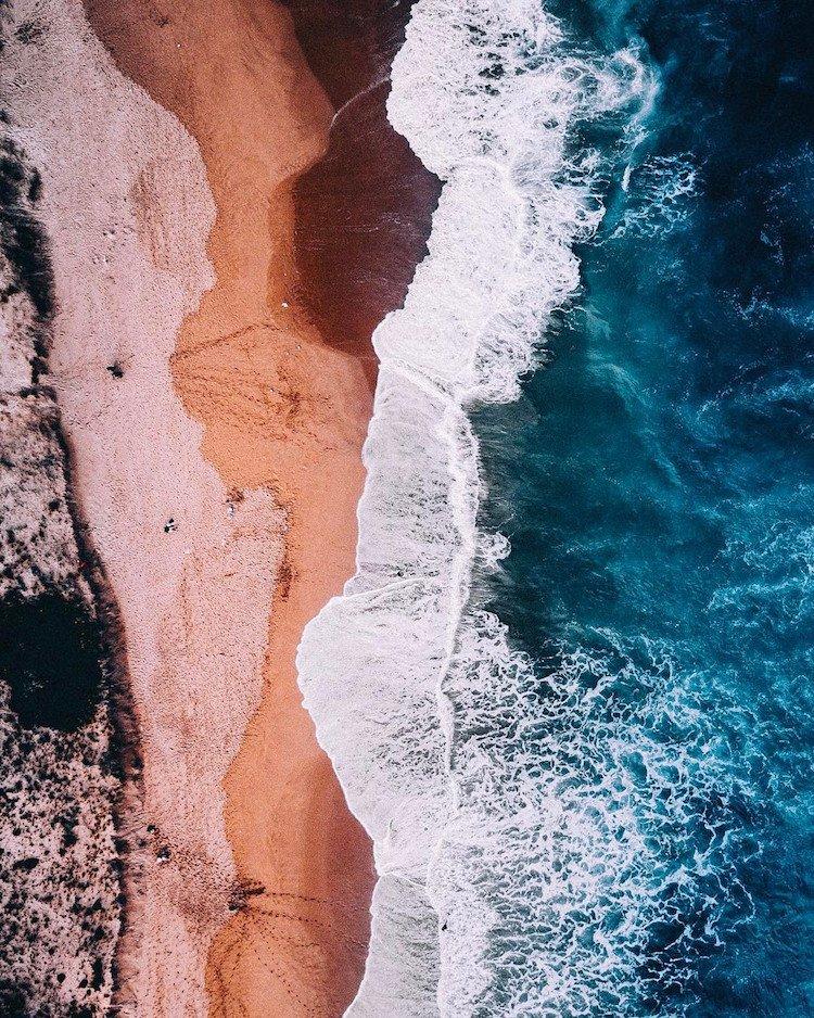 Австралийское побережье с высоты от Бо Ле