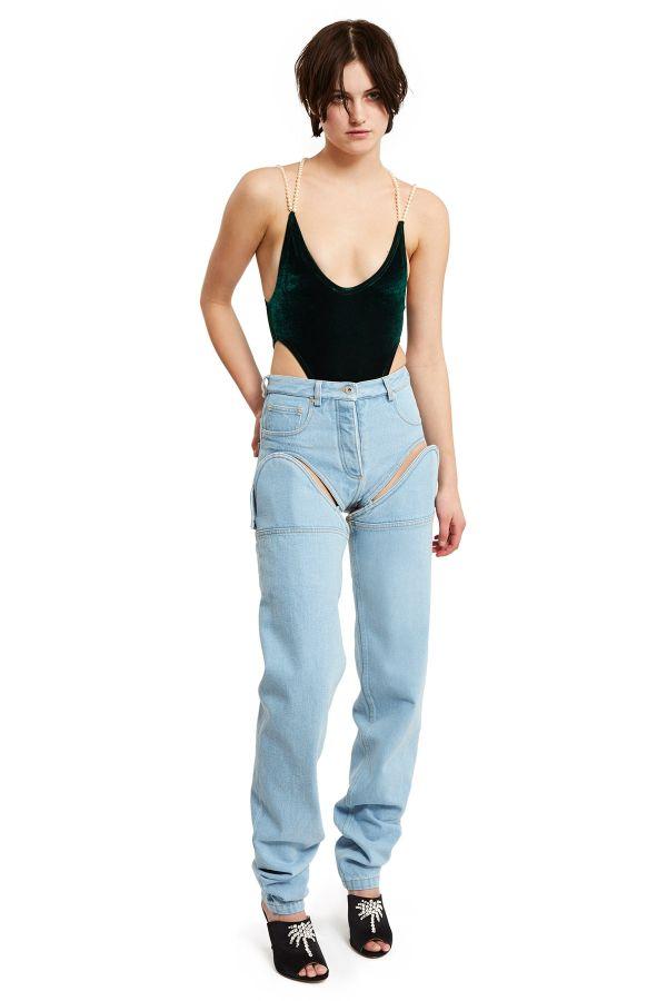 Джинсы, которые могут превращаться в ультракороткие шорты