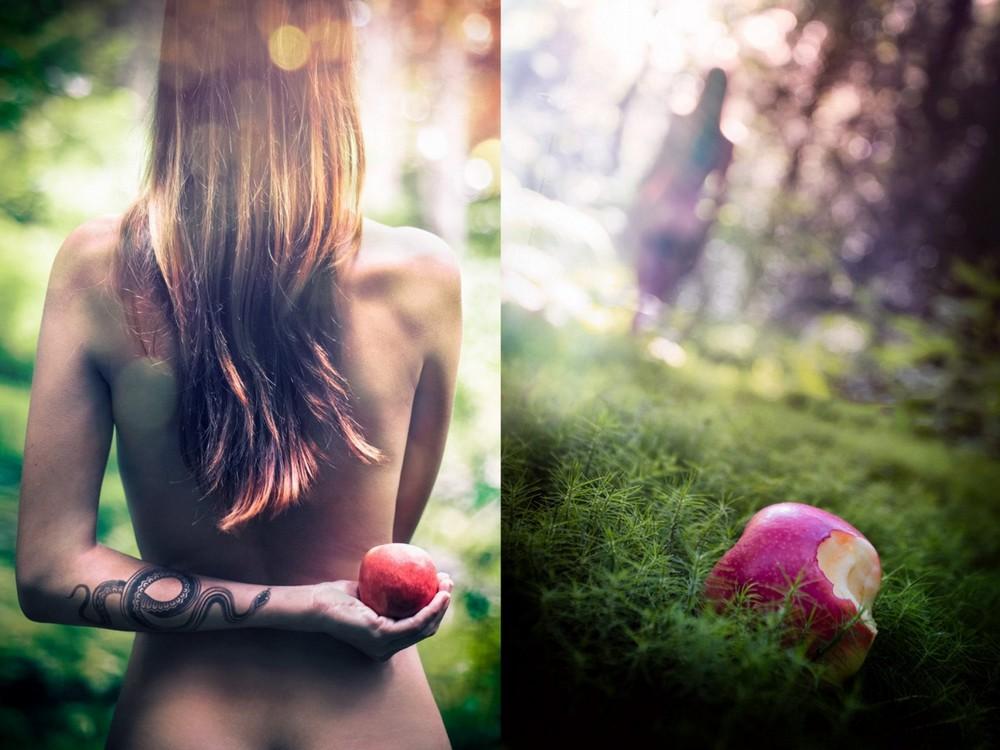 Фотопроект Ева в раю от Себастьена Барриоля