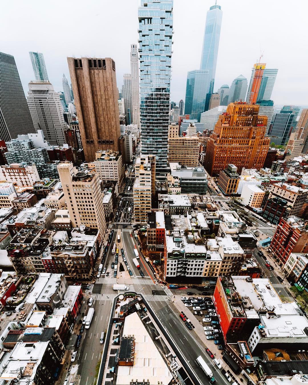 Городские пейзажи из Instagram Хамза Деас