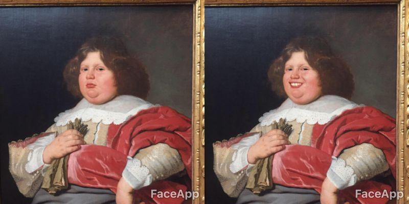 Иллюстратор с мобилкой заставил музейные экспонаты улыбаться
