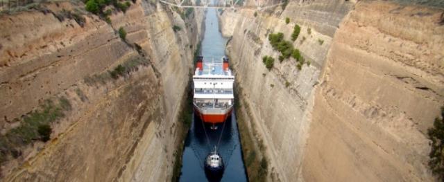Как выглядит самый узкий судоходный канал