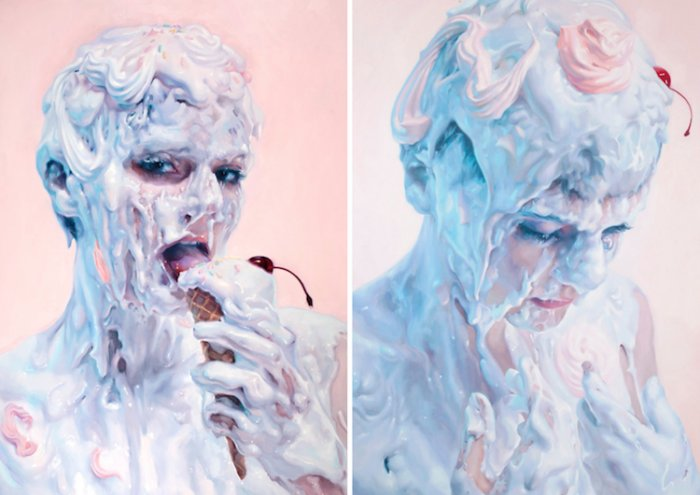 Не молоко: соблазнительные картины от Ивана Алифана