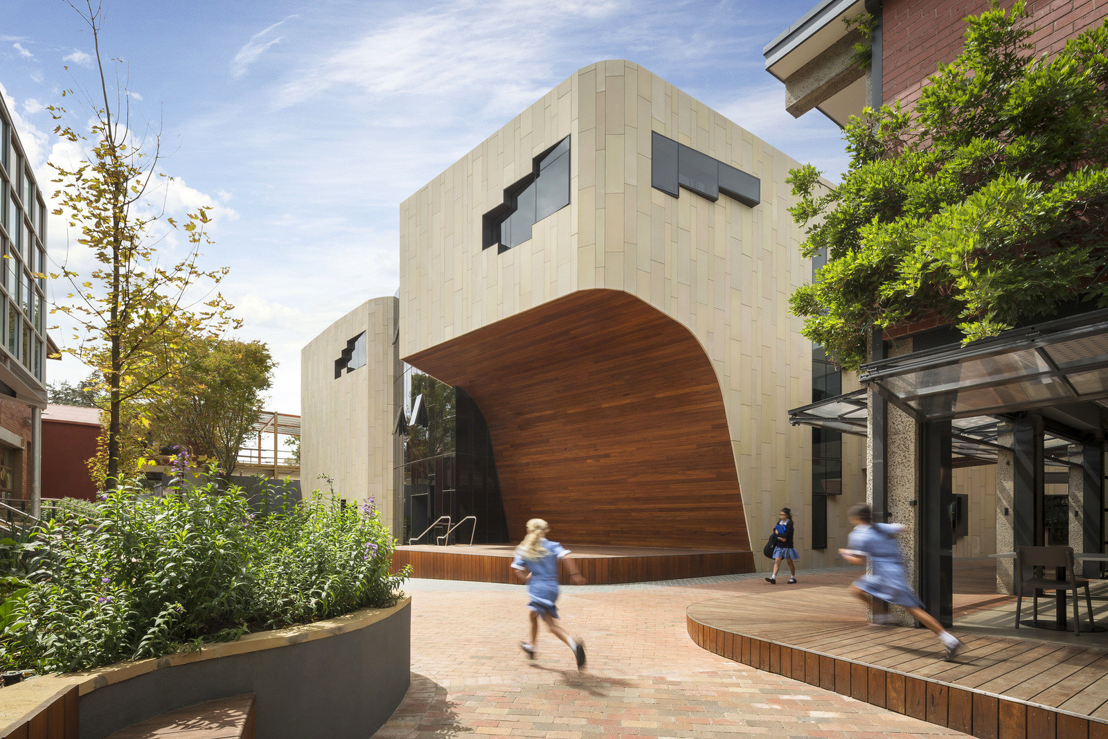 Новая школа для девочек в Австралии