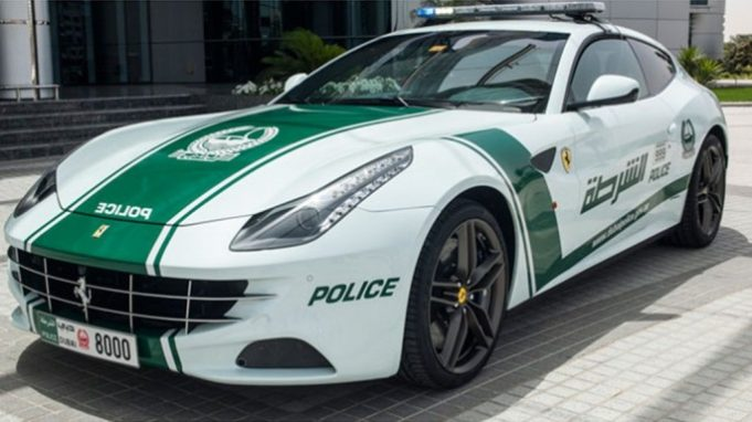 Патрульные машины в Дубае