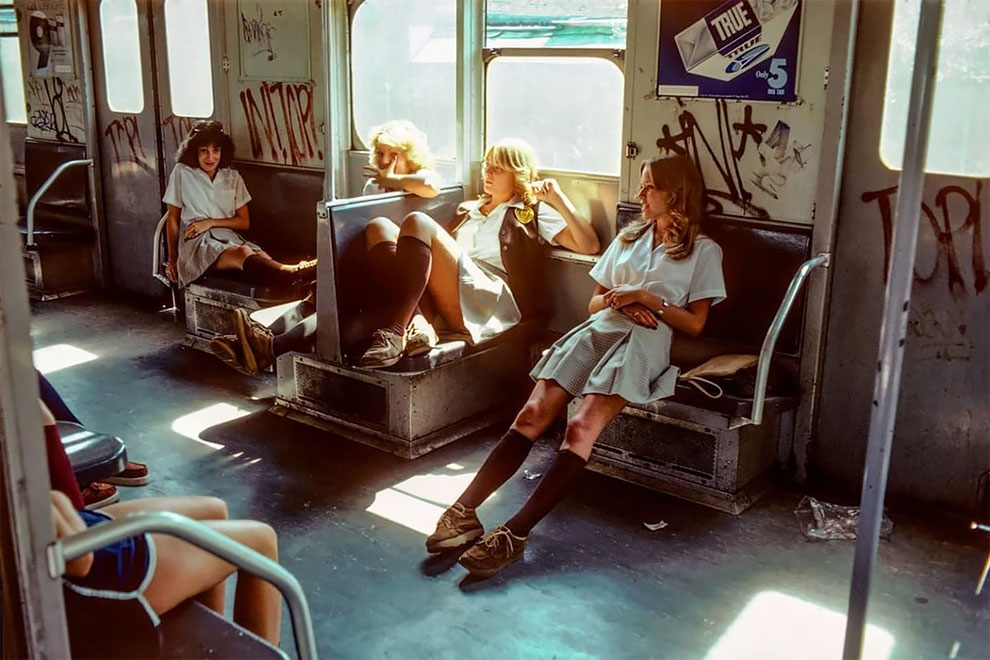 Потрясающие снимки нью-йоркского метро в 1980-х годах