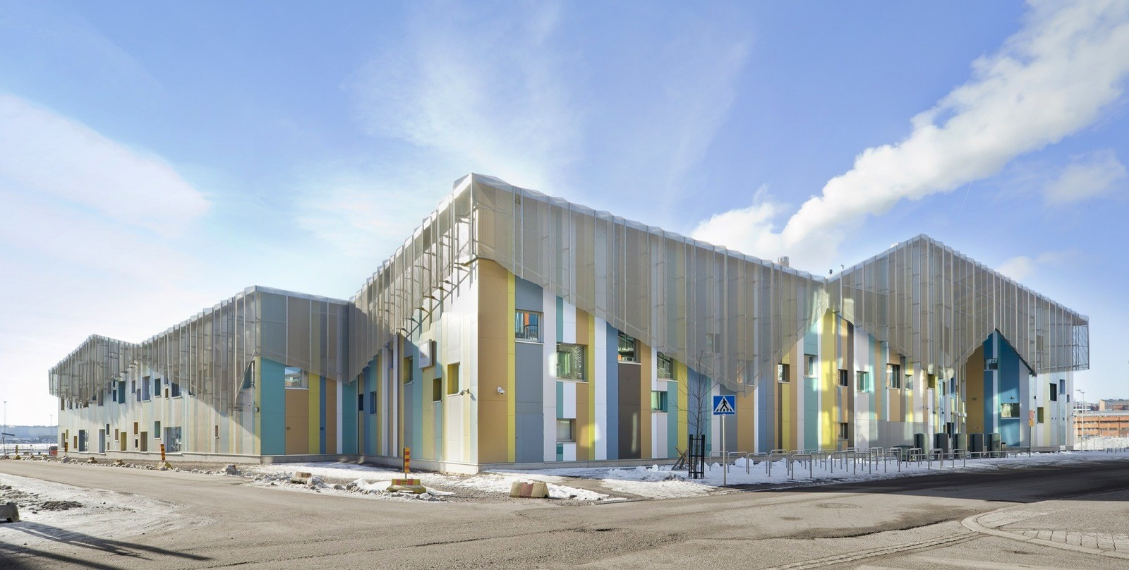 Школа и детский сад в Финляндии
