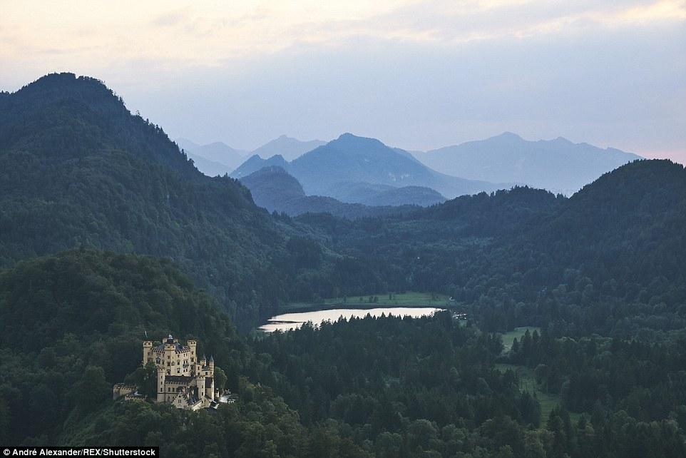 Сказочные европейские пейзажи