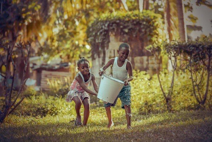 Трогательные фотографии из мира детства