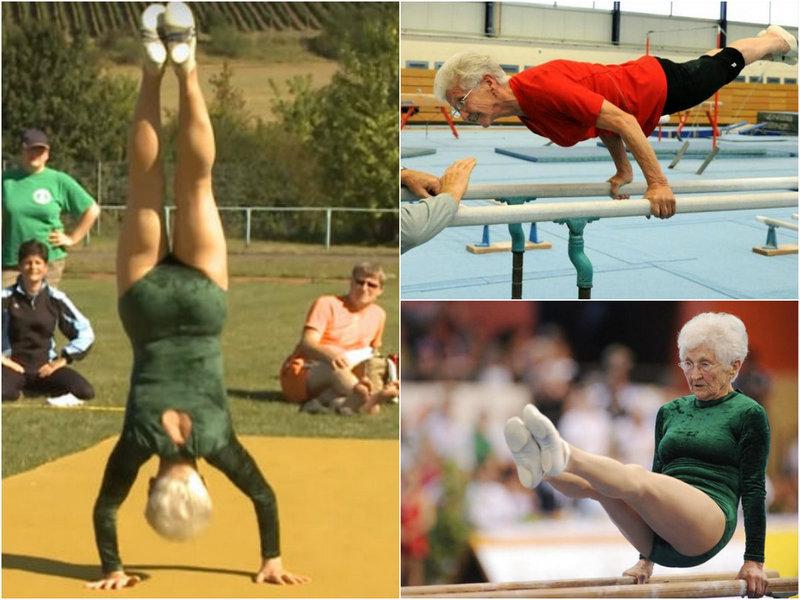 91-летняя гимнастка из Германии
