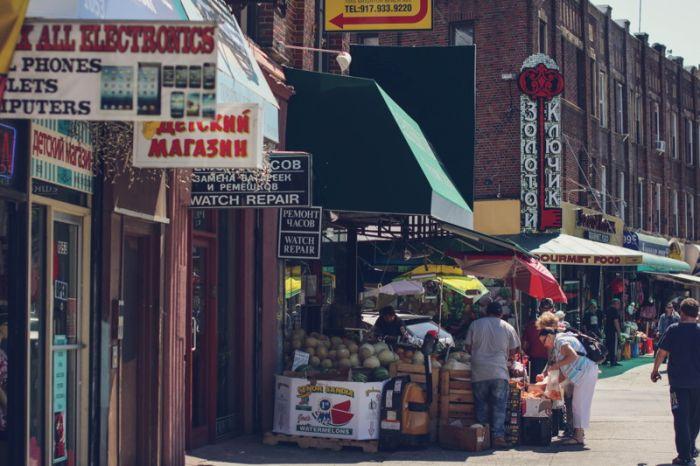 Брайтон-Бич — район не похожий на остальной Нью-Йорк