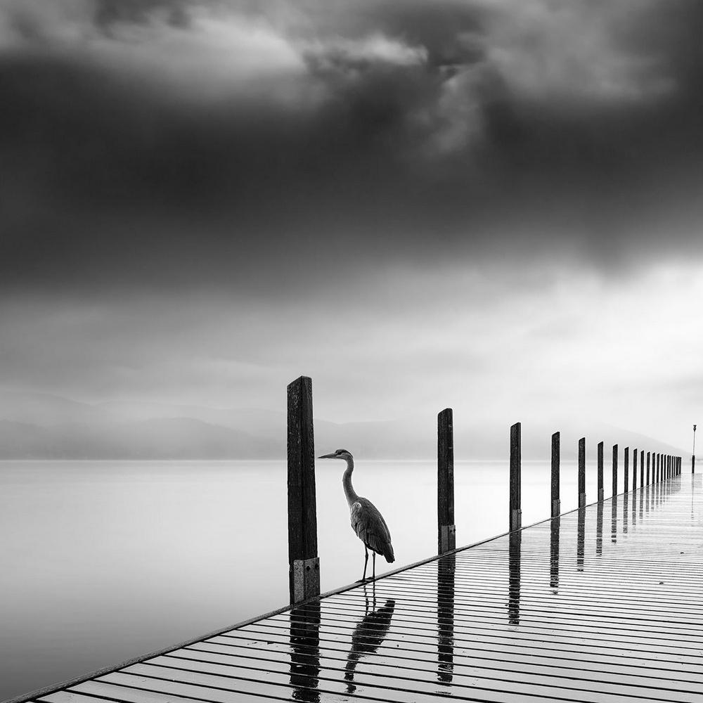Чёрно-белые пейзажи от Джорджа Дигалакиса
