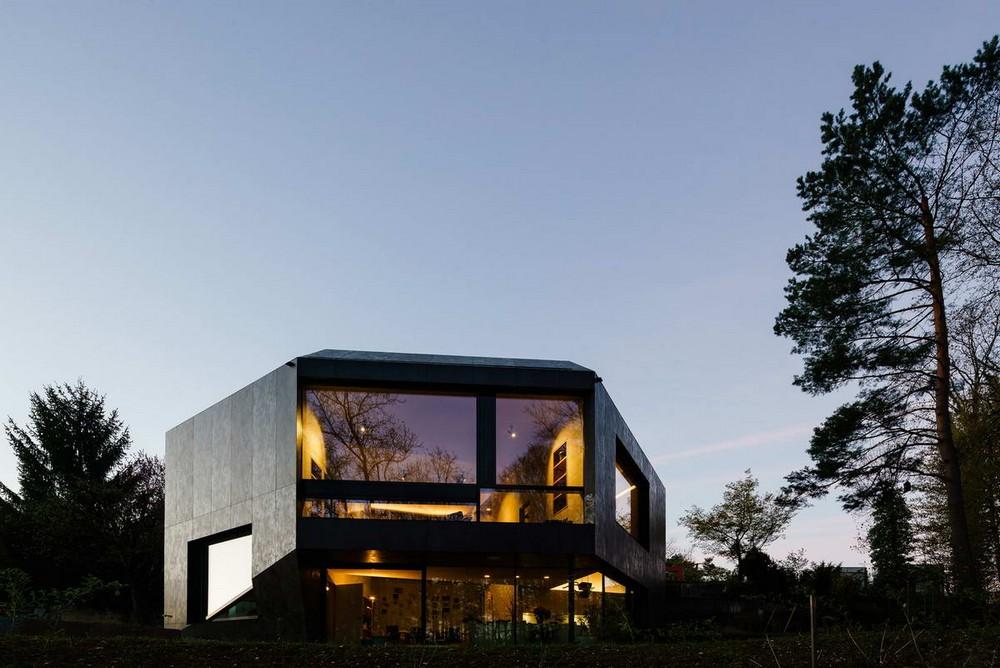 Дом-кристалл в Швейцарии