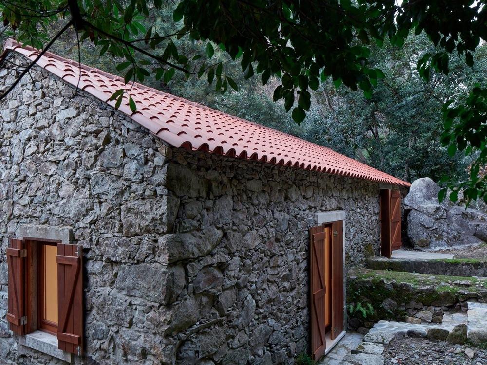 Дом в старой мельнице