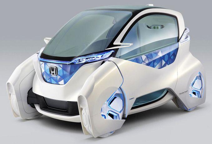 Концепт электрокара для города — Honda Micro Commuter