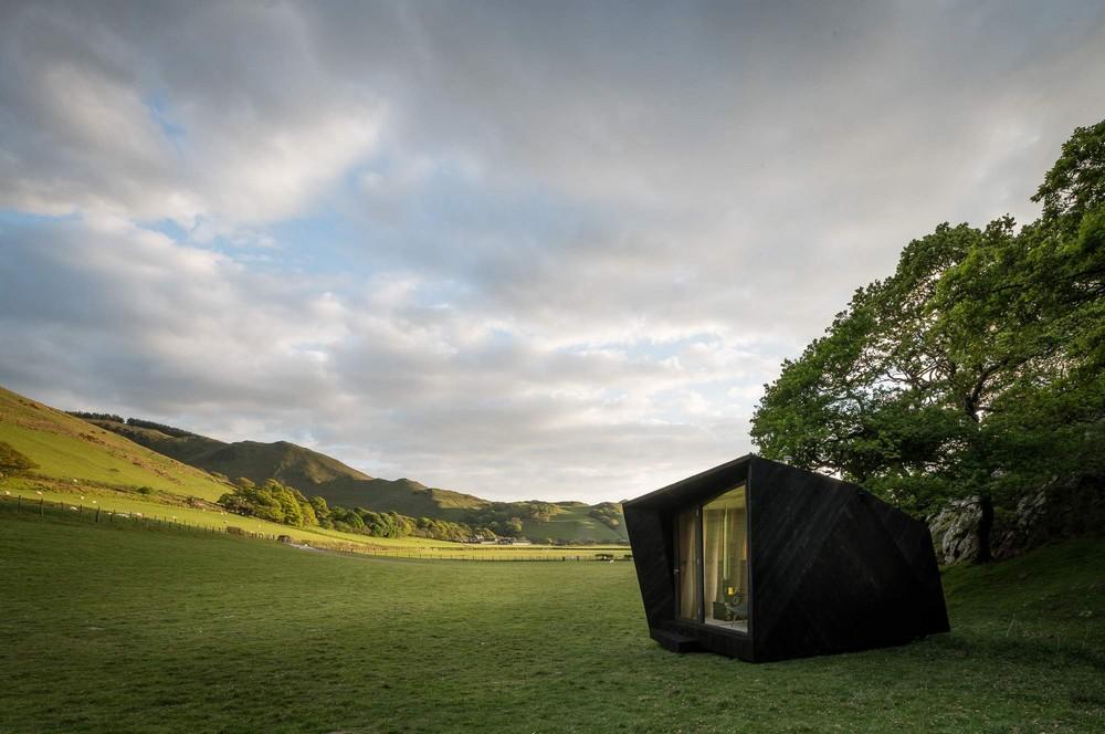 Мобильный домик для туристов в Великобритании