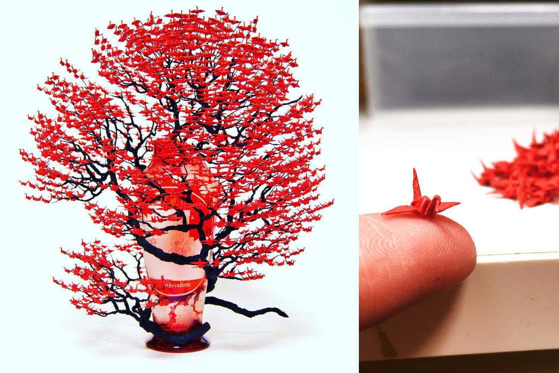 Невероятные деревья-бонсай от японской художницы