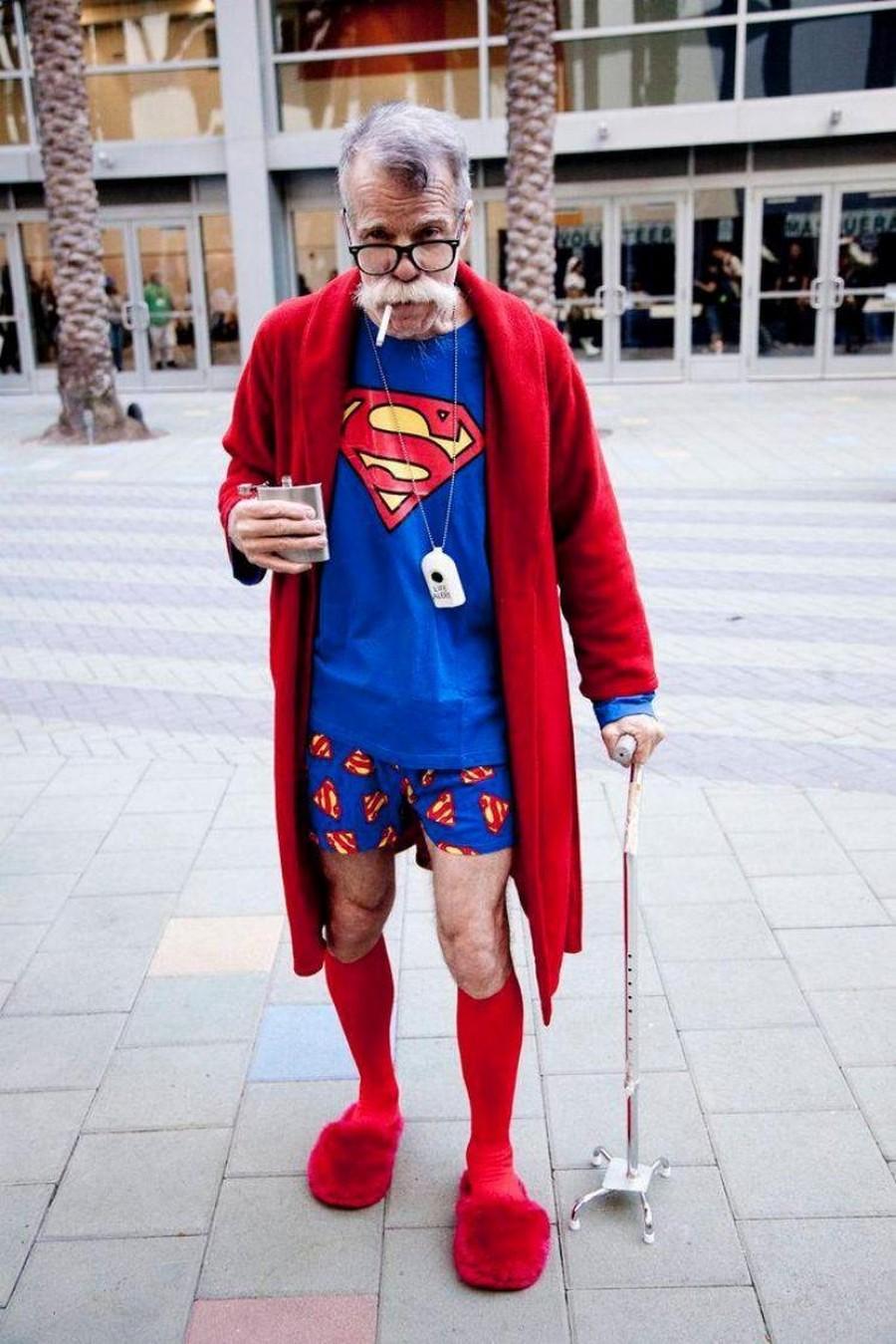 Картинка супермена прикольная, надписью люблю