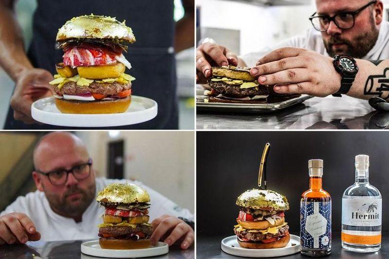 Самый дорогой в мире гамбургер за €2050