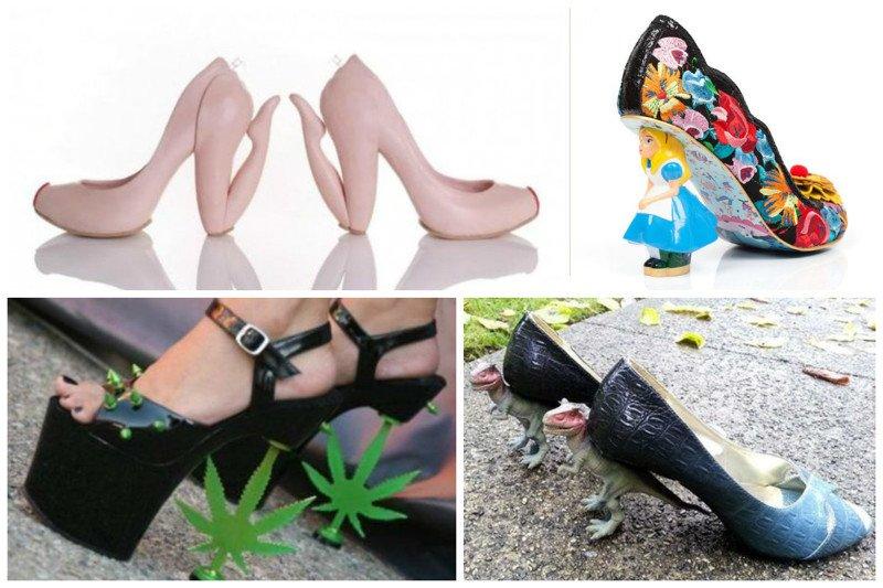 Такие странные дизайнерские туфли