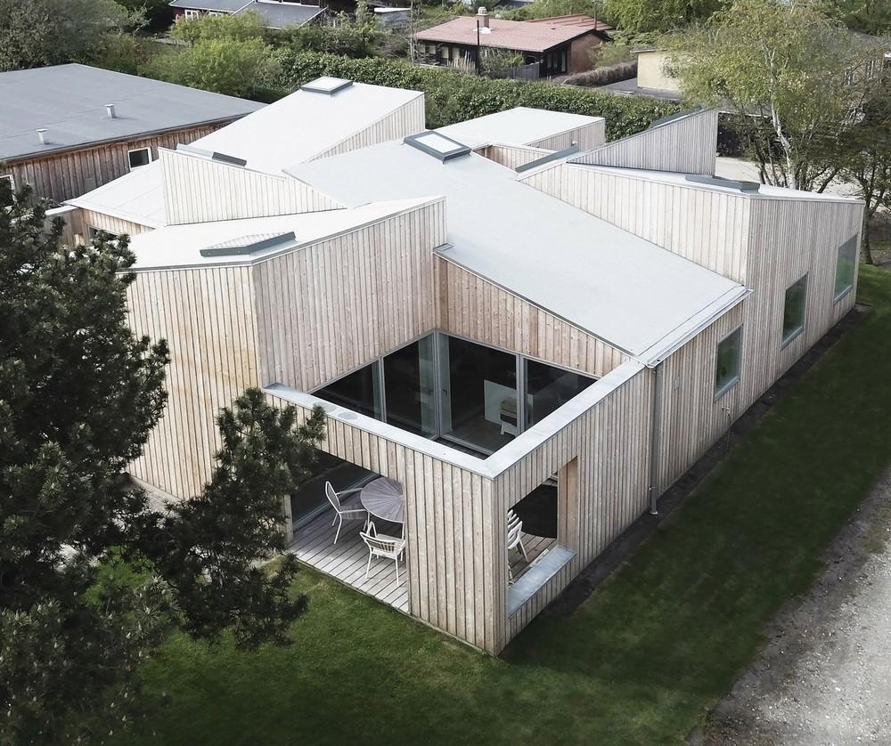 Деревянный дом в Дании