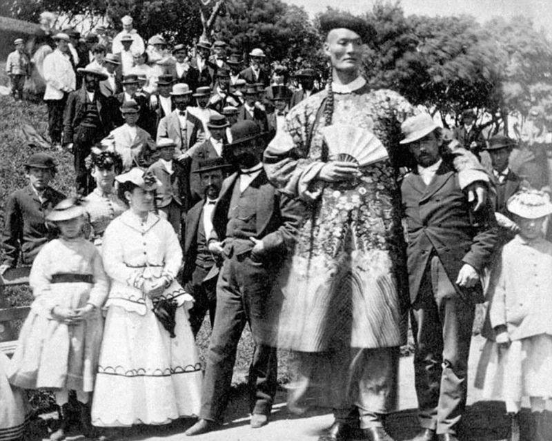 Фотографии из цирка уродов викторианской эпохи
