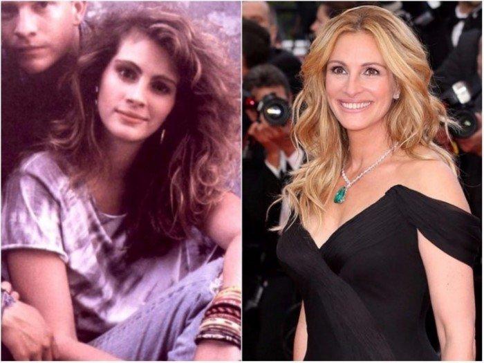 Как выглядели голливудские актрисы в своих первых фильмах