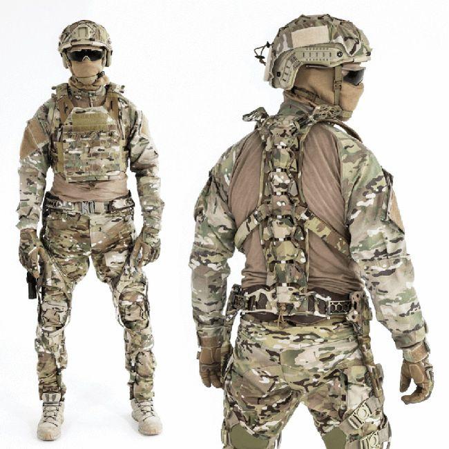 Канадцы разработали пассивный экзоскелет для солдат