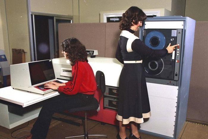 Компьютерная техника минувших дней