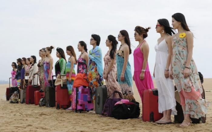 Курсы подготовки девушек-телохранителей в Китае