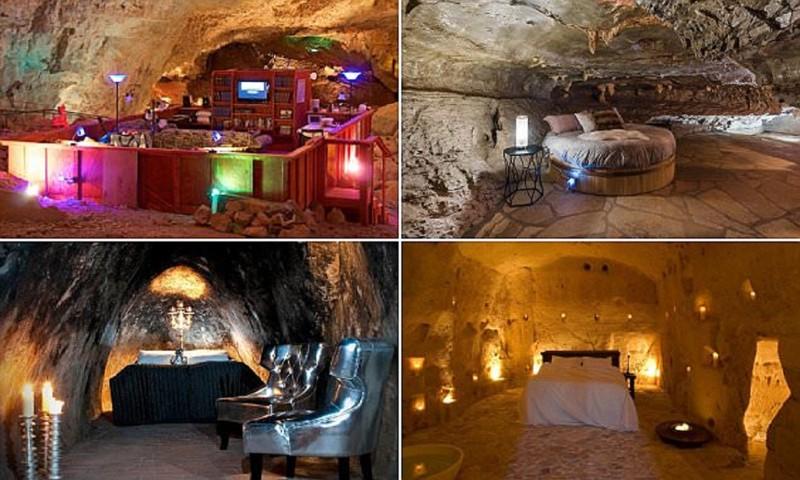 Невероятные отели в пещерах для любителей экзотики