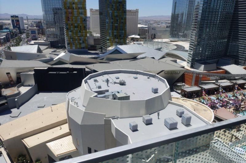 Новый уровень безопасности от охранников отеля в Лас-Вегасе