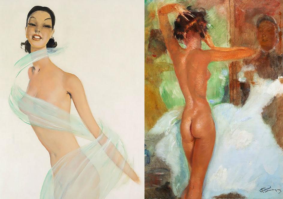 Парижанки на картинах Жана-Габриэля Домерга