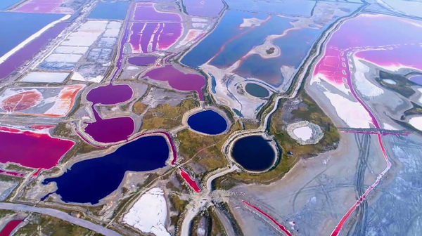 Соленое озеро Яньху