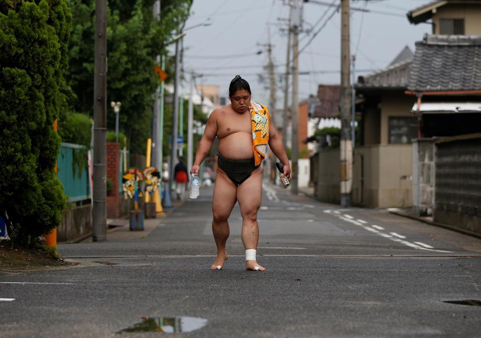 Тайный мир элитных борцов сумо