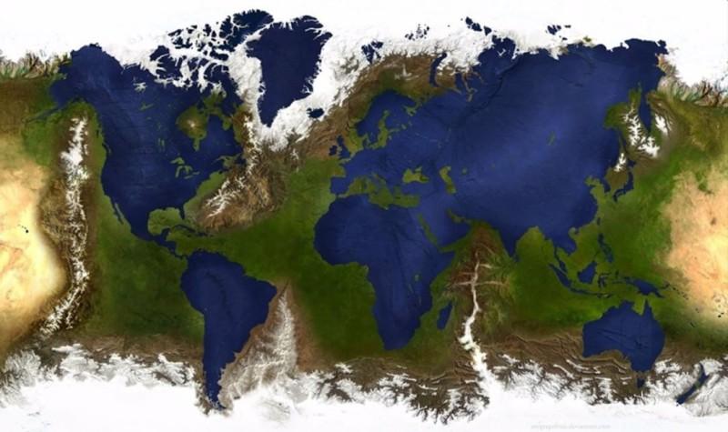 Удивительные карты мира, которые нам не показывали в школе