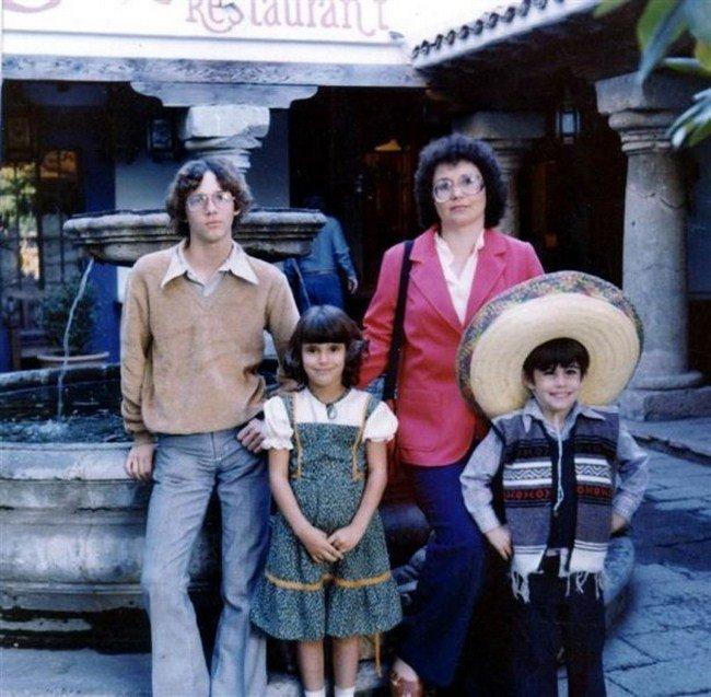 Забавные отпускные семейные фотографии