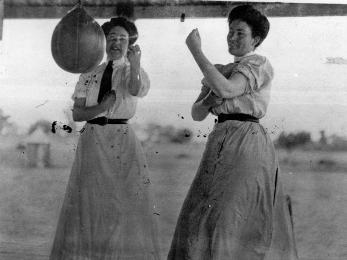 Женский бокс на рубеже XIX и XX столетий