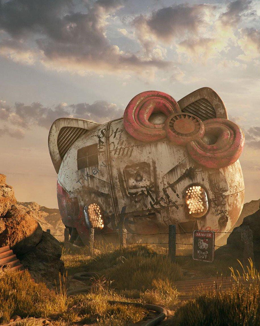 Знакомые объекты в незнакомом исполнении от Филипа Ходаса