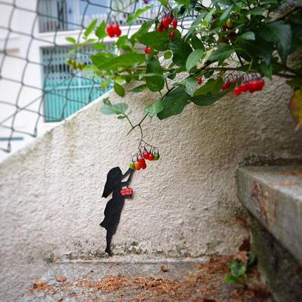 20 примеров нетривиального стрит-арта, который оживил серые улицы