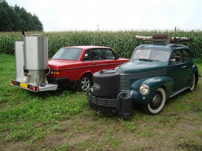 Автомобили, которые ездят на дровах