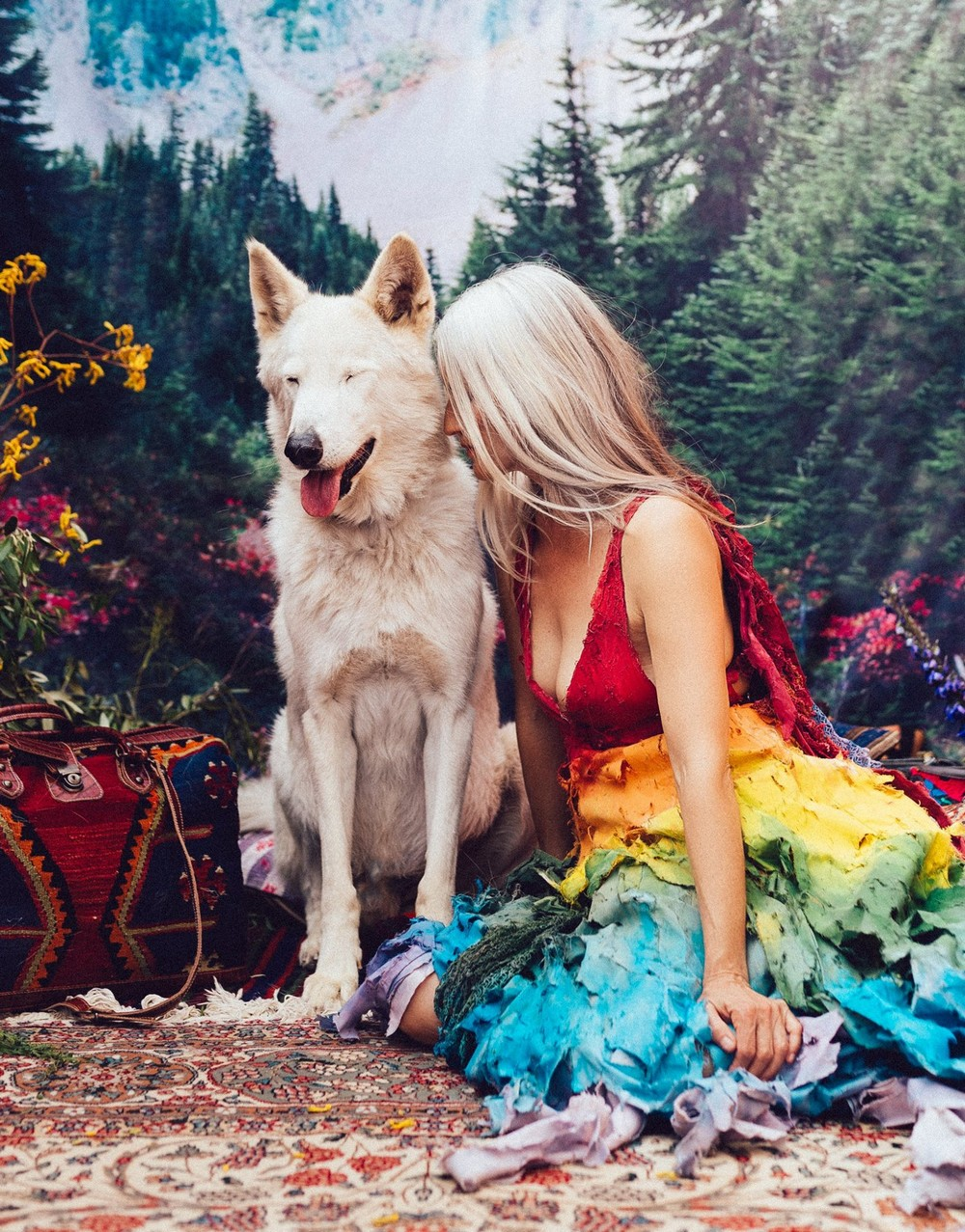 Красивая фотосессия со спасенными животными