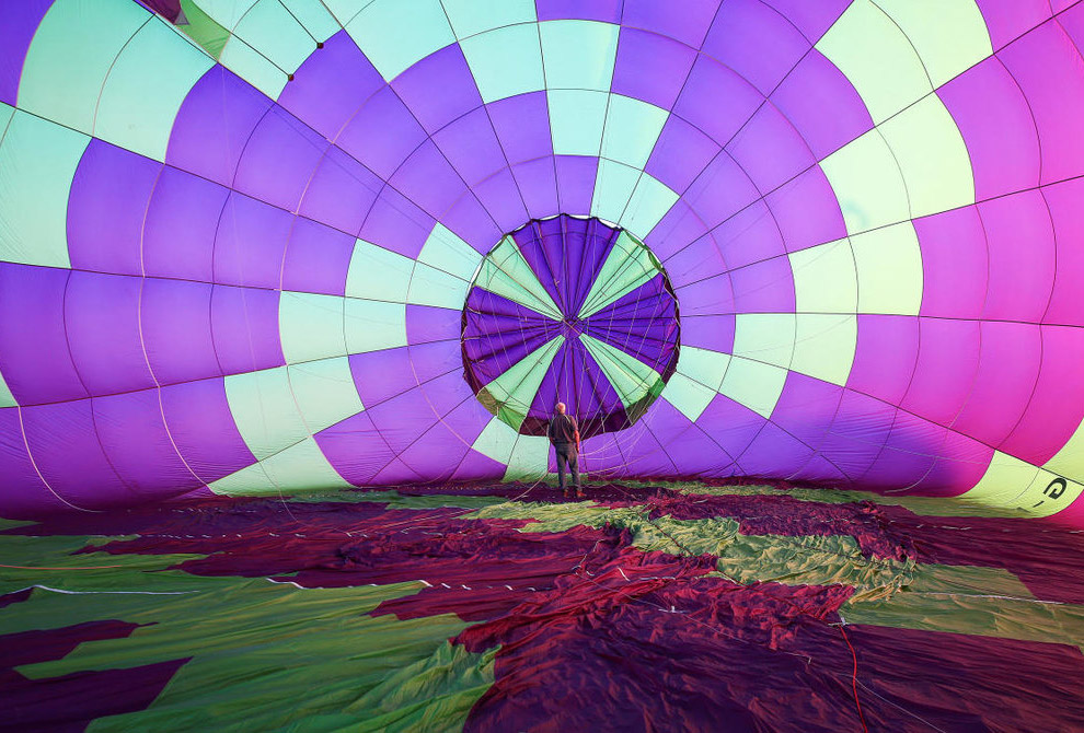 Международный фестиваль воздушных шаров 2017 в Италии