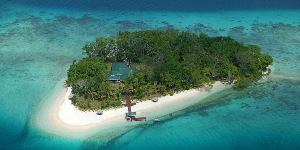 Остров с особняком в Тихом океане за $1,6 миллиона