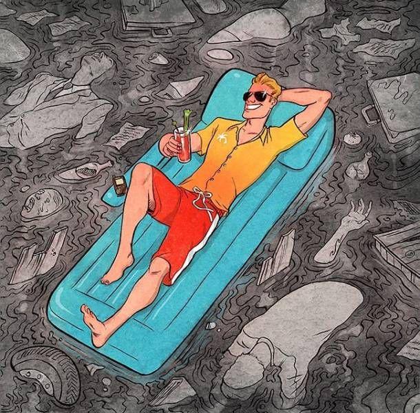 Правда современного мира от иллюстратора Корена Шадми