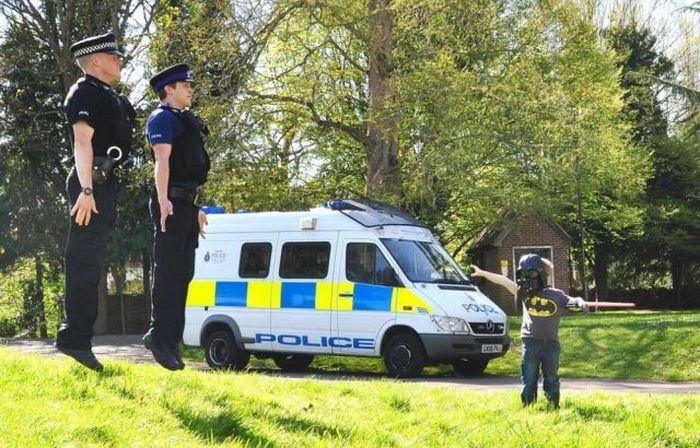 Прикольные фото с полицейскими