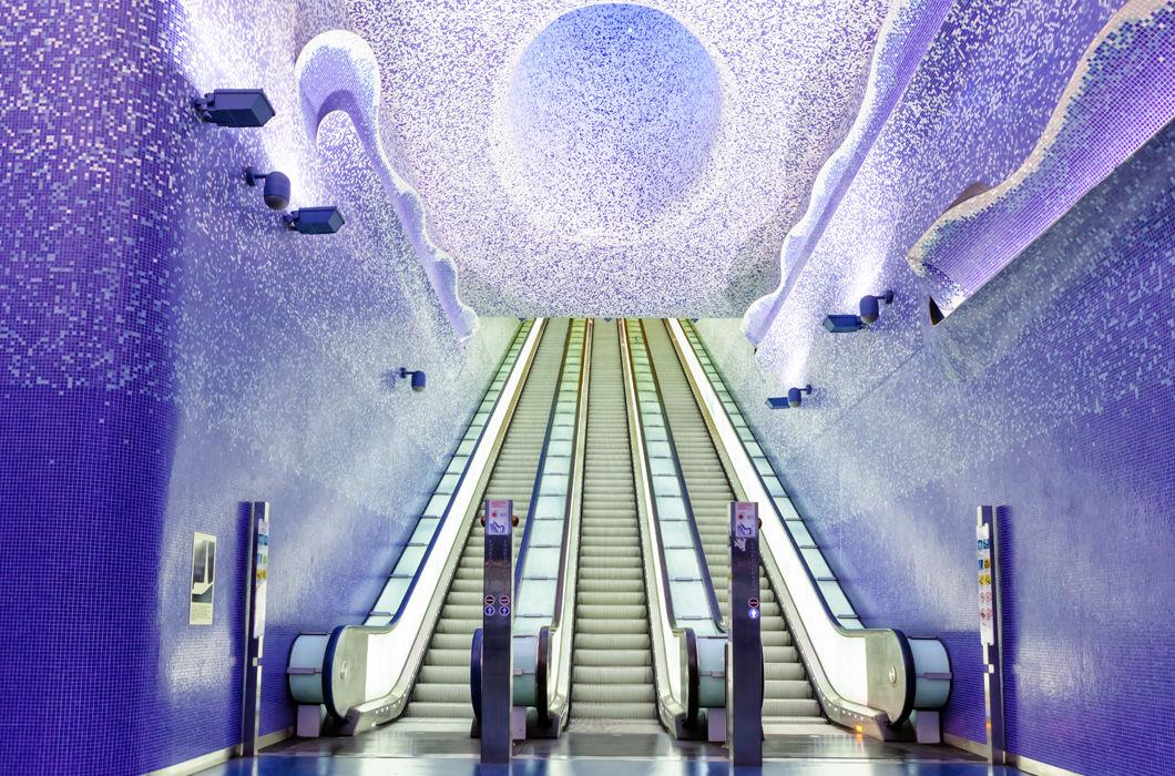 Шедевральные станции метро в разных странах