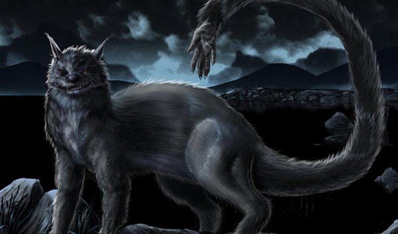 Ужасающие мистические существа из озер
